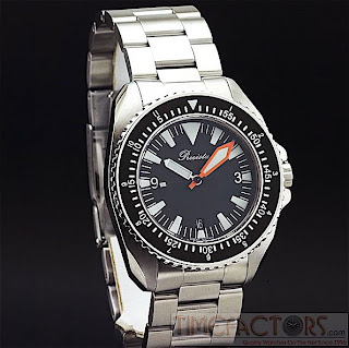 HOROLOGY CRAZY: New Time Factors PRS-3 LE 300 M Diver