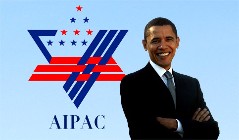 Obama lobby sionistako lehendakaria