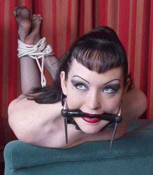gagged fetish