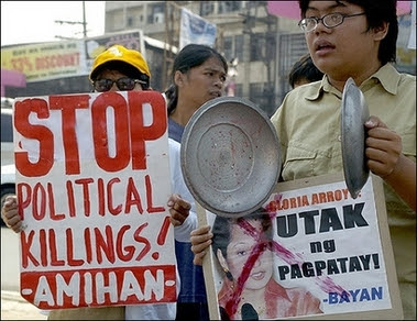 Gloria Arroyo protestors