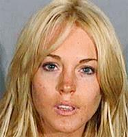 Lindsay Lohan mug