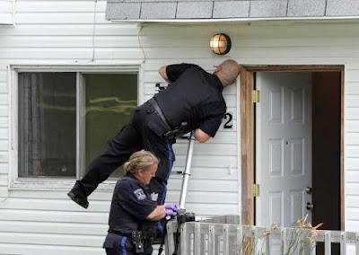police bullethole