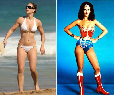 Jessica Biel vs Wonder Woman