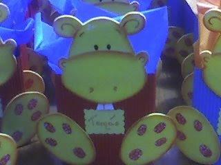 Colores Los Hipopotamos Estan Confeccionados Totalmente En Goma Eva