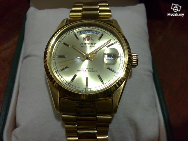 koleksijampecks jam orient rolex style automatic rm460 new watch. Black Bedroom Furniture Sets. Home Design Ideas