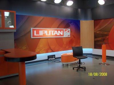 LIPUTAN 6 SCTV Aktual Tajam Terpercaya: Studio Baru, Logo Baru