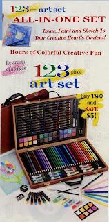 easy 123 art set