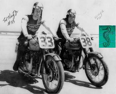 Nostalgia On Wheels Old Triumphs Daytona