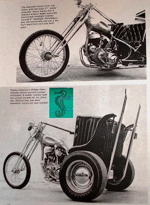 Nostalgia on Wheels  Crazy 45 Trike  late 60s Roths Choppers
