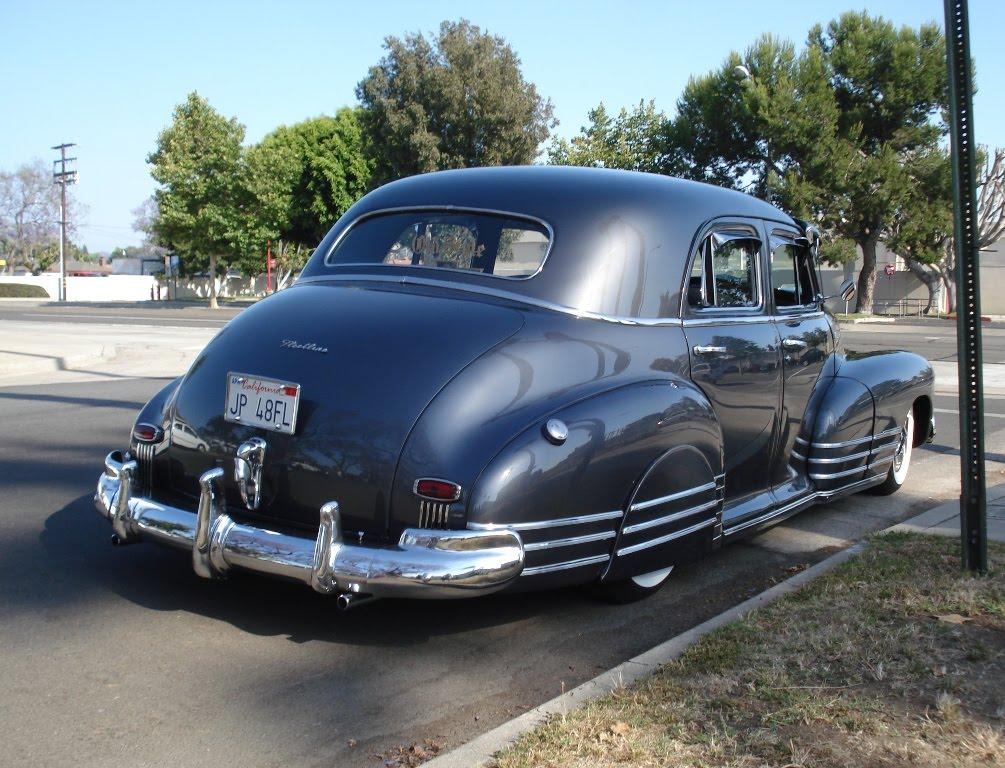 Nostalgia on wheels 1948 chevy fleetline in the heart for 1948 chevy fleetline 4 door