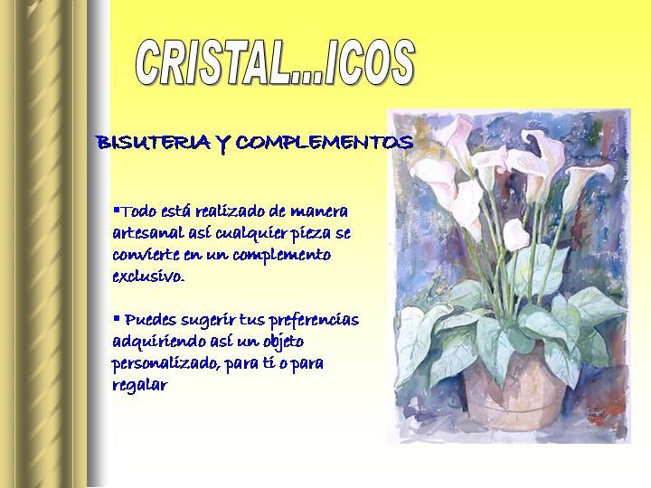 Cristal...icos