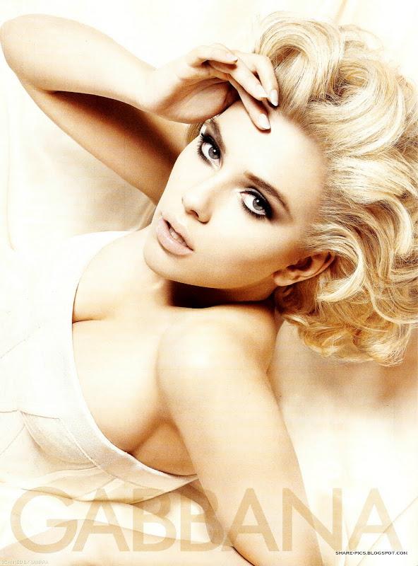 Scarlett Johansson advert for Dolce & Gabbana fragrance The One