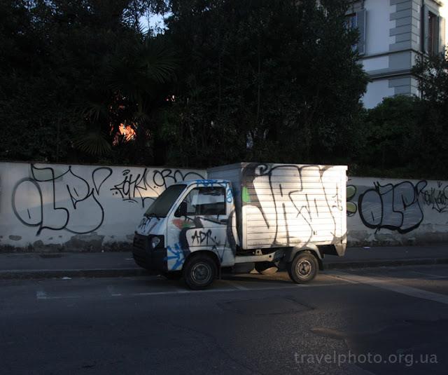 Флоренция, графити