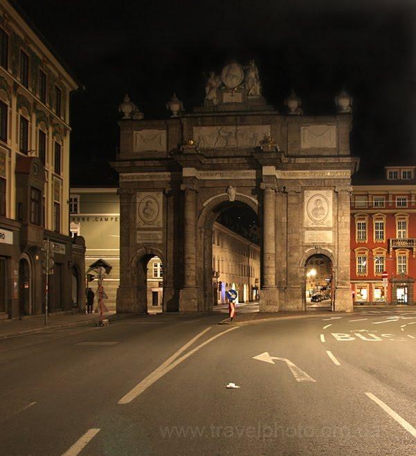 Триумфальная арка Инсбрук