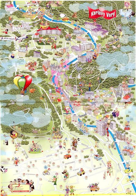 Туристическая Карта Карловых Вар