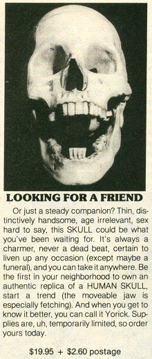 Ad from 1982 Starlog