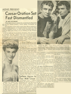 newspaper article assignment julius caesar Transcript of julius caesar newspaper  results from the games men at some times are masters of their fates the fault, dear brutus,  - julius caesar recipes.