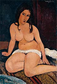 Modigliani_seated_nude