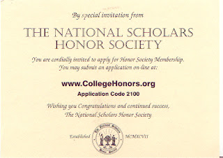 national honor society scholarship The national society of high school scholars pairs its lifetime members with high school and college scholarships, events unlike most honor societies.