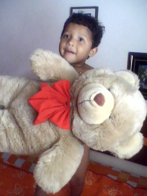 Tatazinho com 4 anos
