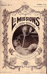 LA REVUE DES MISSIONS DES FRANCISCAINS :  90 ANS EN 2013 !