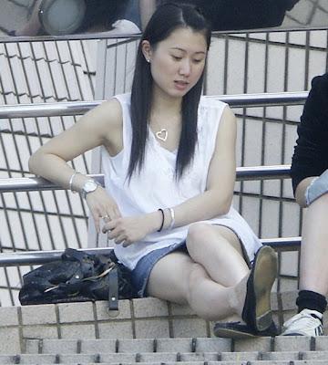 Cute hong kong girl upskirts