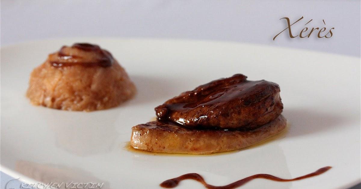 Kitchen victim magret de caille laque au jus et reduction de xeres sur une escalope de foie - Cuisiner un foie gras frais ...