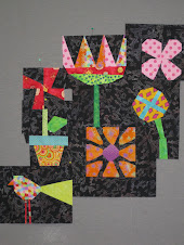 Robin&#39;s Flower Power samples from Mary Lou&#39;s class