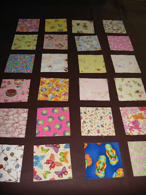 I Spy Quilt blocks