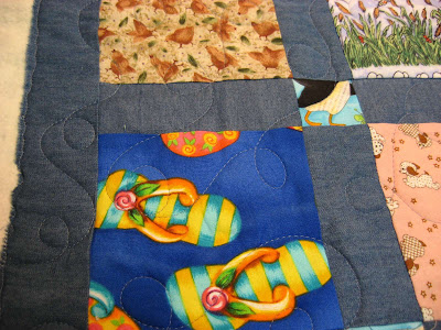 Learning to use a long arm quilting machine