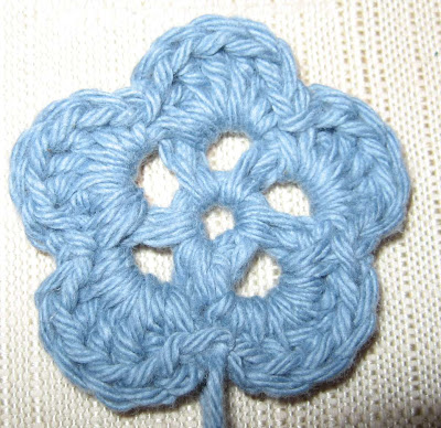 Three Crocheted Flowers - Quick, Easy and Cute!