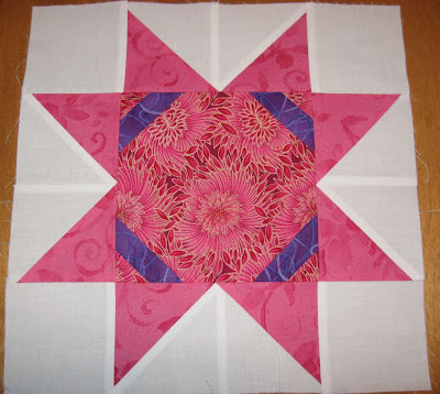 Layer Cake Quilt-Along Block Four