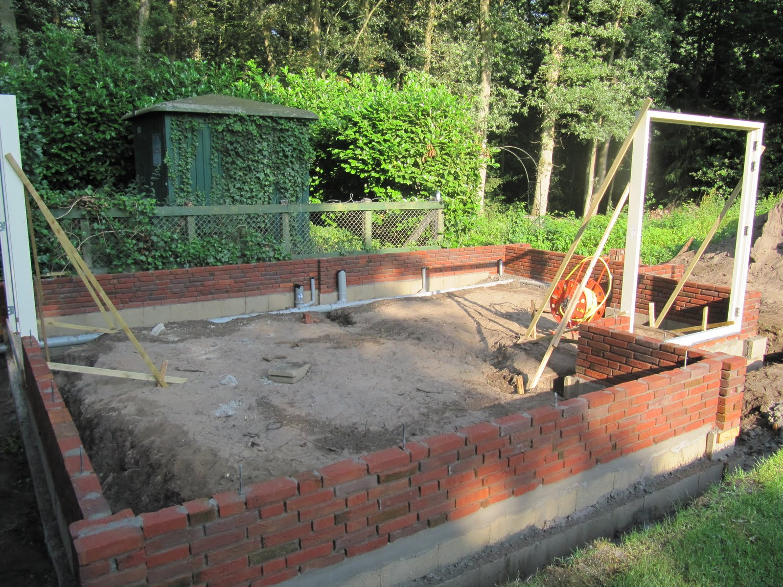 Villa oosterheem tuinhuis 2 - Hoe een overdekt terras te bouwen ...