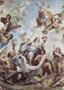 Justice by Luca Giordano