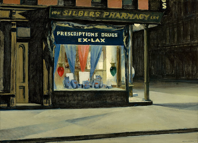 National Crisis and Democracy 3+Drug+Store+1927+The+Museum+of+Fine+Arts,+Boston