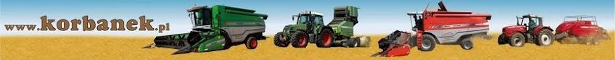 Korbanek sp. z o.o. - Maszyny rolnicze: kombajny, ciągniki, pługi, siewniki, przyczepy, kosiarki...