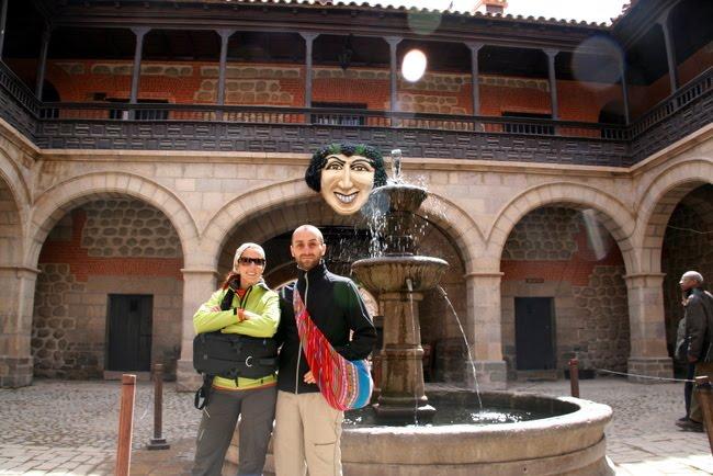 asier y yo en la casa de la moneda de potosí [haz click sobre la imagen para ver el album completo]