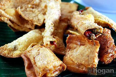 Yong Tau foo stuffed with Naga Jolokia