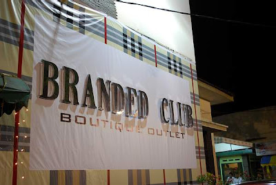 Branded Club Boutique Outlet Bandung