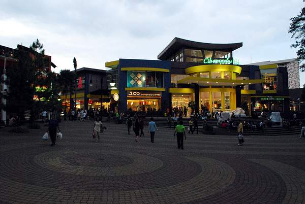 Cihampelas Walk Shopping Mall in Bandung