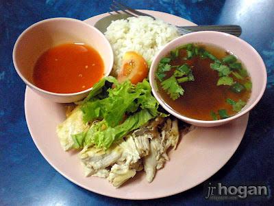 Warung Saga Nasi Ayam Melayu in Johor
