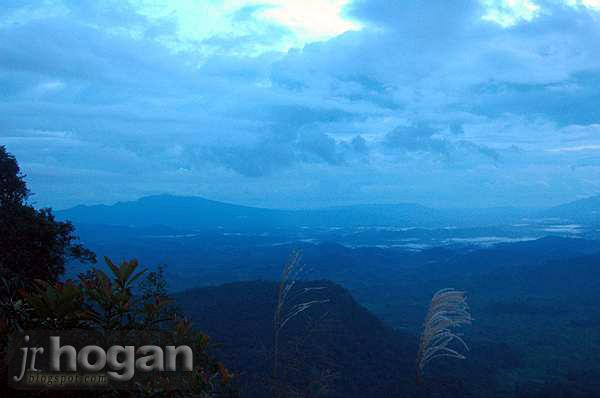 Kalimantan View from Sarawak