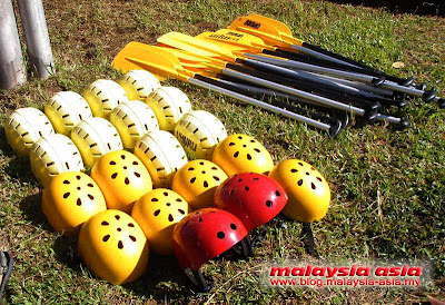 Kampar Water Rafting Equipment Perak