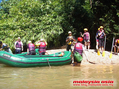 Photo Kampar River Water Rafting