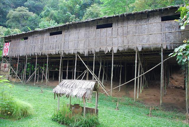 Murut Longhouse Sabah