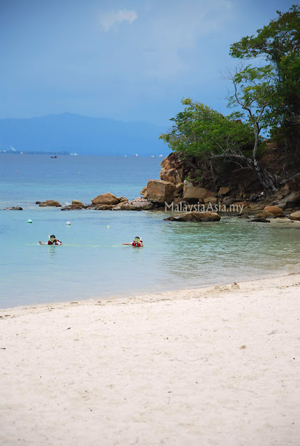 Beach at Sapi Island