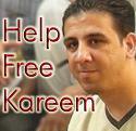 الحرية لكريم عامر