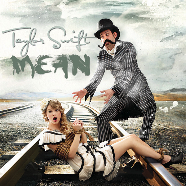 The single cover art for Taylor's Mean