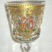 19th Century Enameled European Goblet