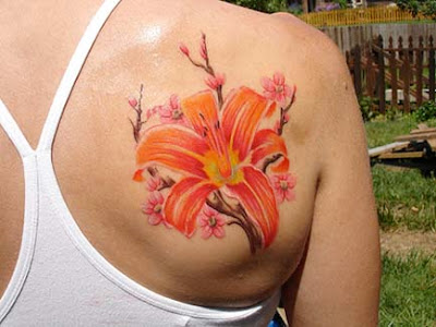 japanese cherry blossom tattoo designs pics